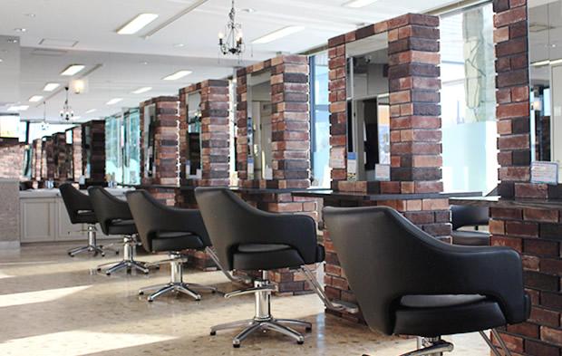 旭川の美容室「ロゼッタガーデン」の店内イメージ